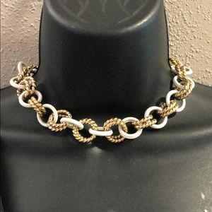 Vintage chunky chain necklace/ choker
